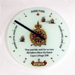 Personalised Tide Clock, ref PGTC